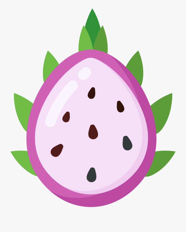 Dragon Fruits Vector Free, Transparent Clipart