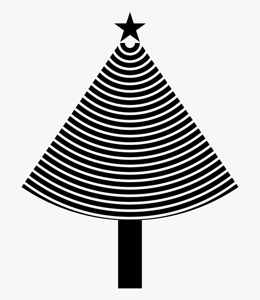 Abstract Christmas Tree - Tommy Hilfiger Striped Top Womens, Transparent Clipart