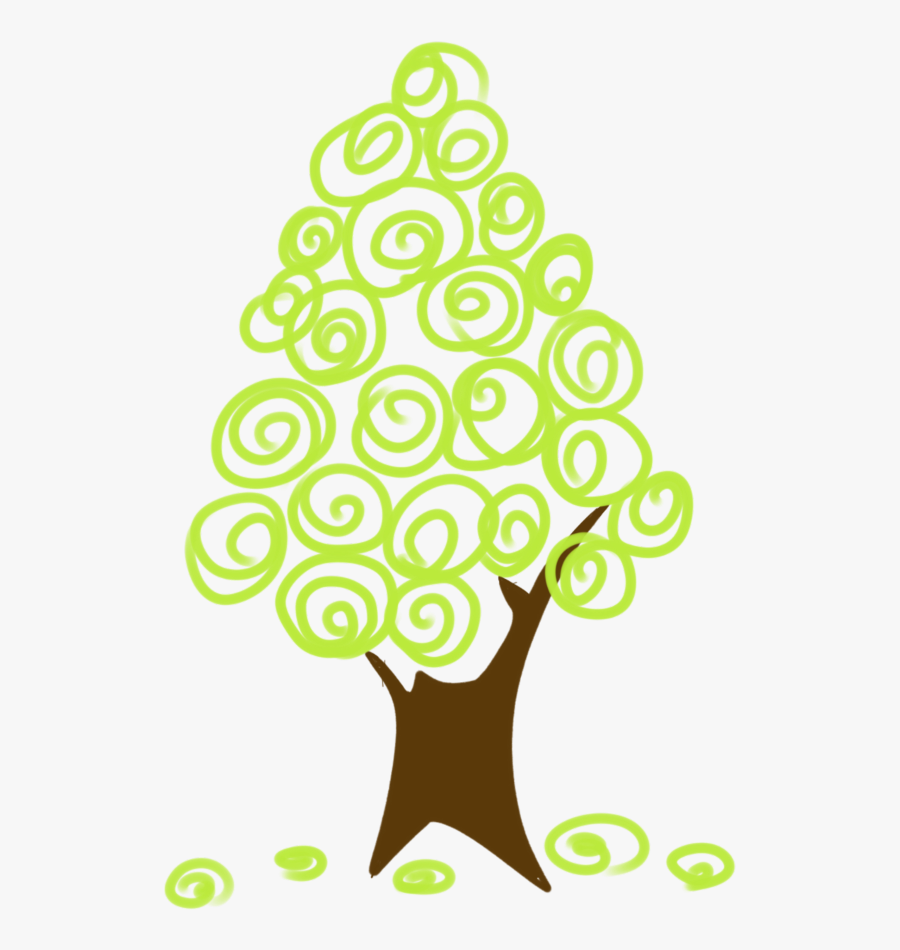 #ftestickers #clipart #cartoon #tree #abstract #cute, Transparent Clipart
