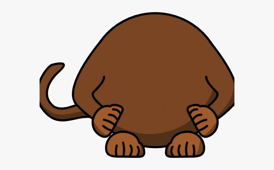 Monkey Clipart Body - Cartoon Monkey, Transparent Clipart