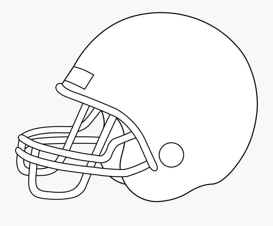Football Helmet Clip Art - Football Helmet, Transparent Clipart