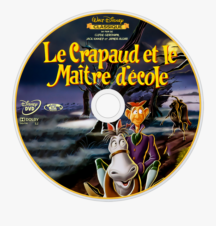 Disney The Adventures Of Ichabod And Mr Toad Dvd, Transparent Clipart