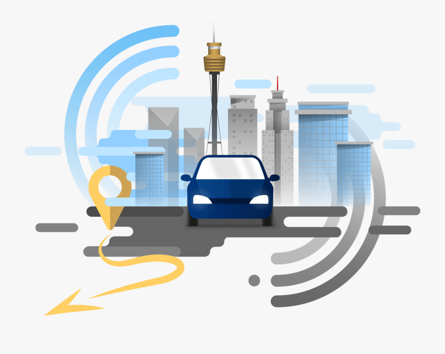 Gps Vehicle Tracking Png, Transparent Clipart