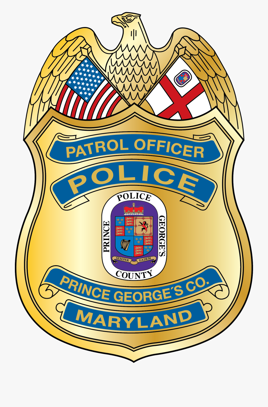 Prince George's County Police, Transparent Clipart