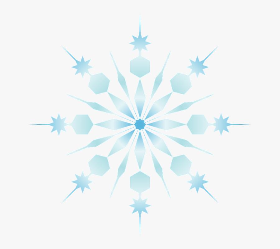 Transparent Background Snowflake Clipart, Transparent Clipart