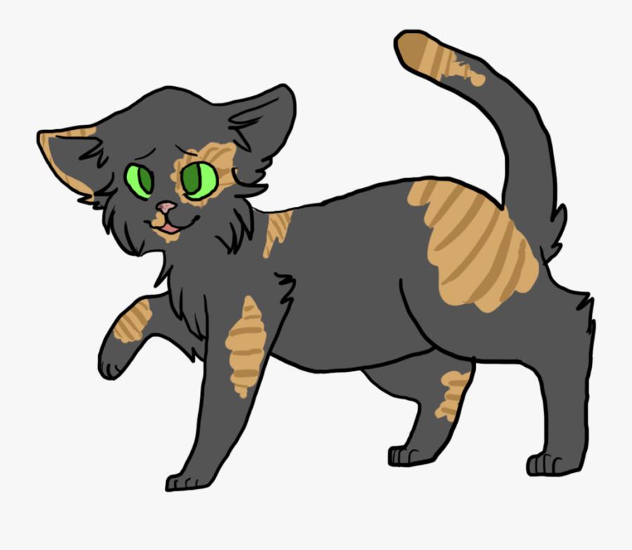 Poppyshimmer Warrior Cats Oc Design By Jazpii - Warriors Cats Cat Oc, Transparent Clipart