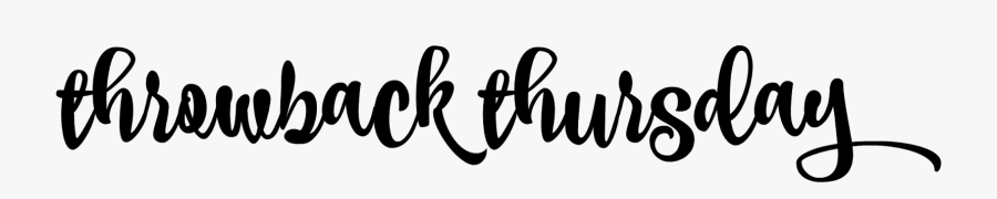 Throwback Thursday Logo Png, Transparent Clipart