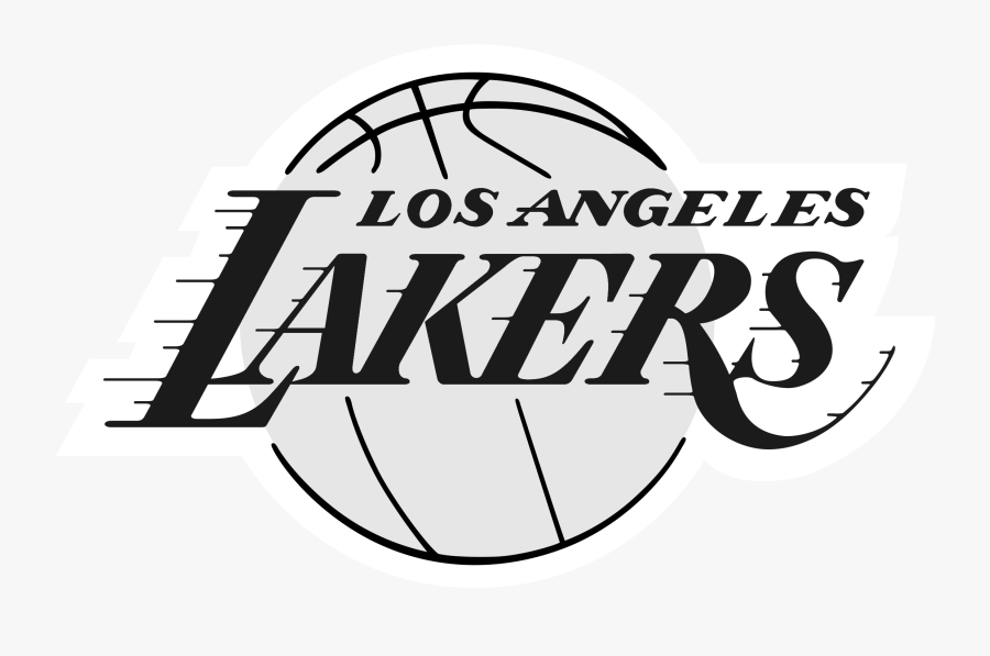 Los Angeles Lakers Logo Black And White - Logo High Resolution Png Lakers, Transparent Clipart