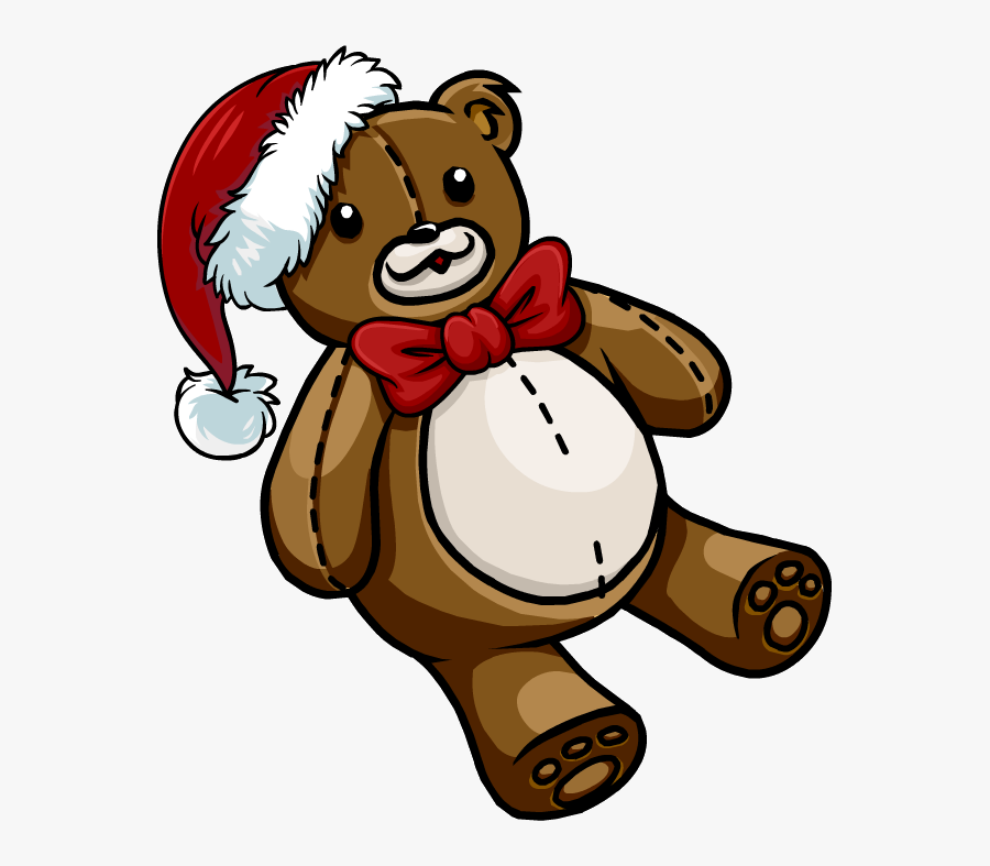 Clipart Bear Penguin - Peluche Oso Club Penguin, Transparent Clipart