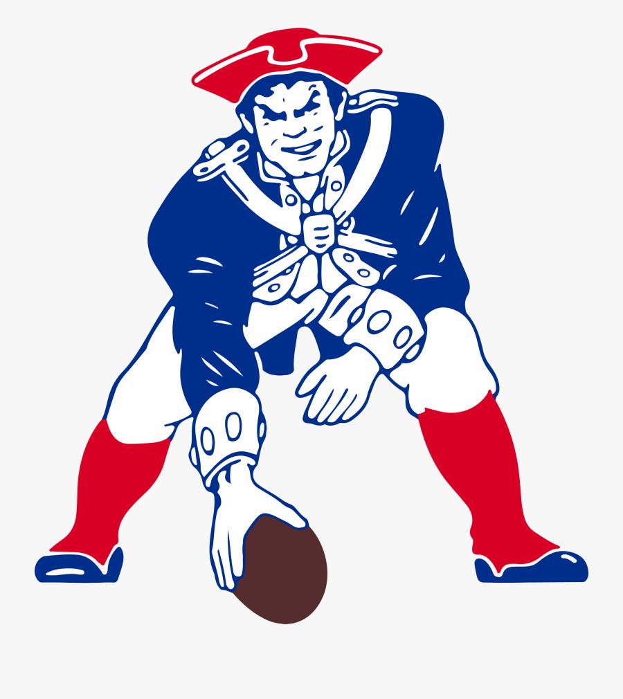 New England Patriots Classic Logo, Transparent Clipart
