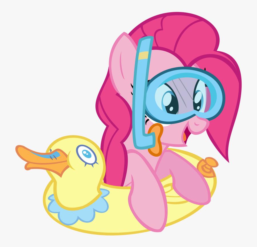 Pinkie Pie Rarity Rainbow Dash Applejack Twilight Sparkle - Pinkie Pie Swimming My Little Pony, Transparent Clipart
