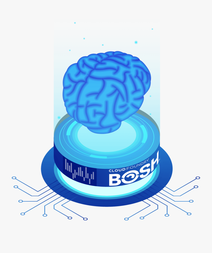 Powering And Automating Your Cloud - Artificial Intelligence Isometric Vectors, Transparent Clipart