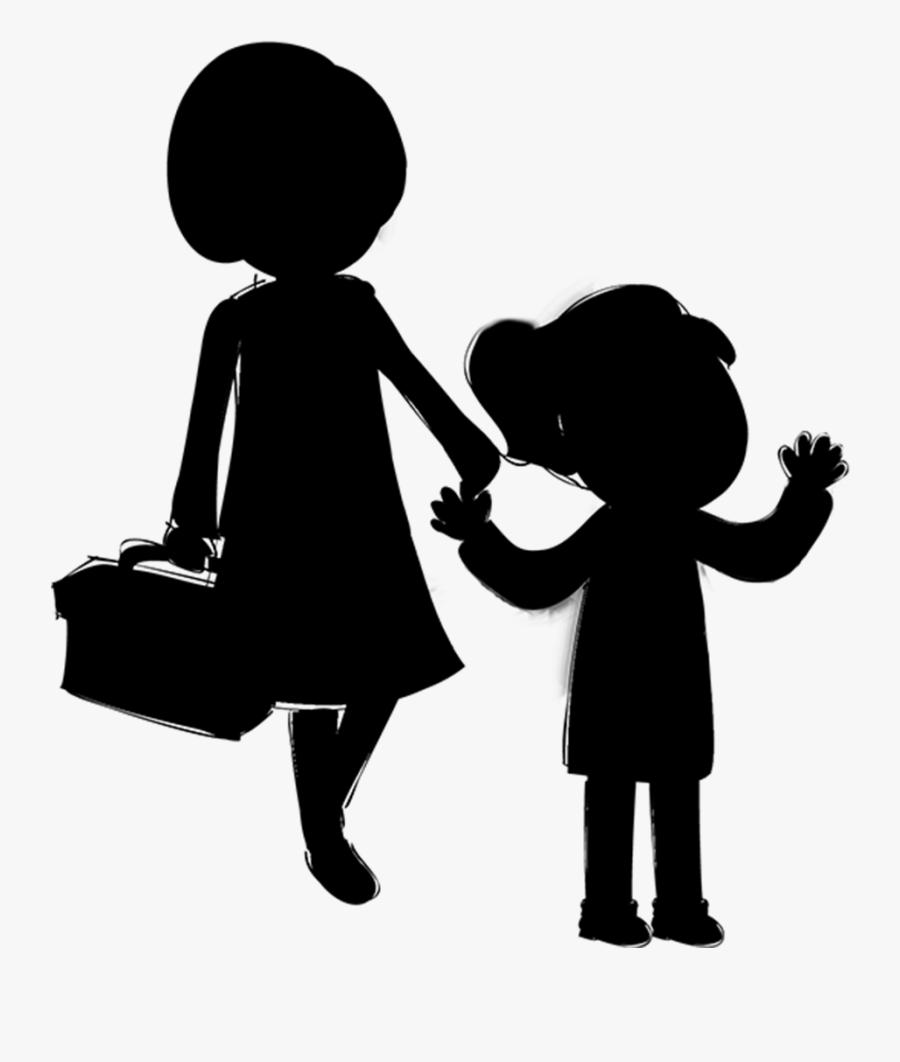 Clip Art Human Behavior Public Relations Silhouette - Illustration, Transparent Clipart