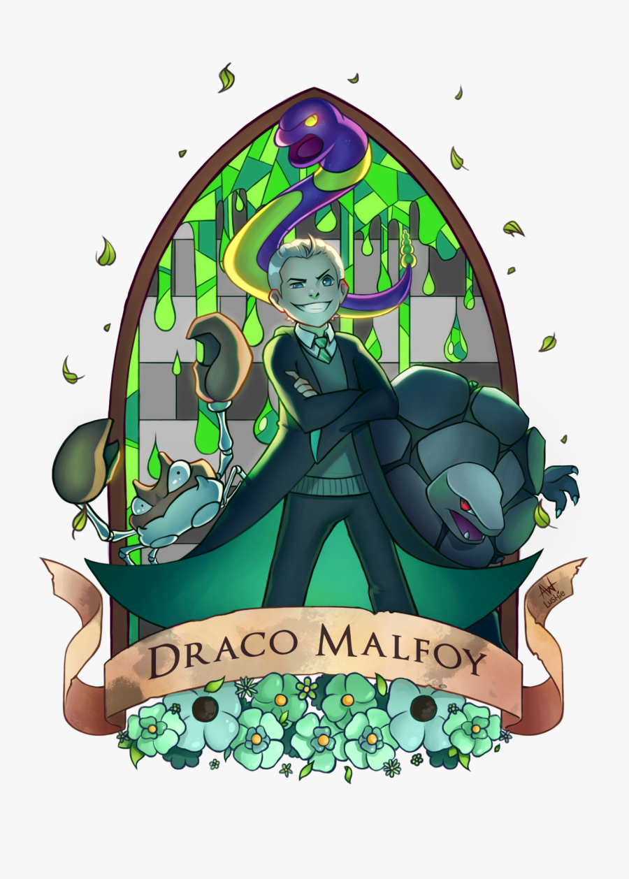 Draco Malfoy - Ginny Weasley Fan Art, Transparent Clipart