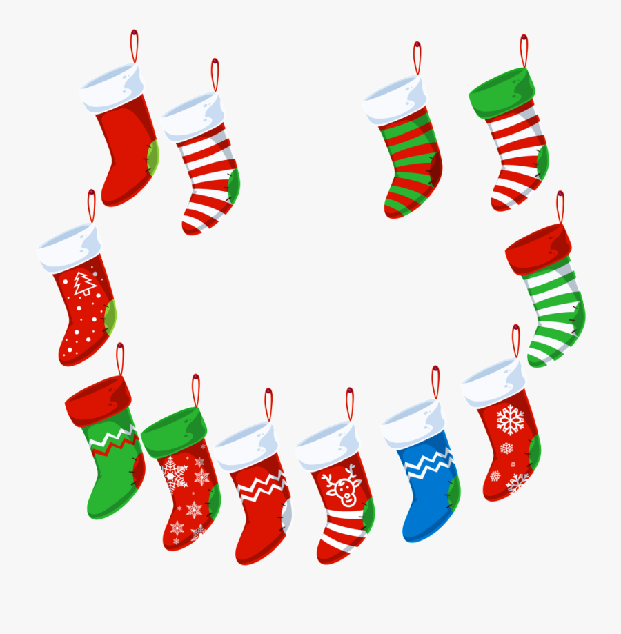 Christmas Clip Art License - Christmas Stocking Free Png, Transparent Clipart