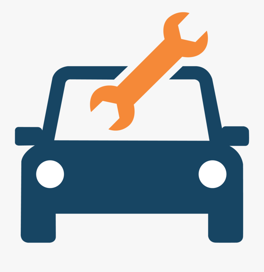 Car Symbol Grey Transparent Background, Transparent Clipart