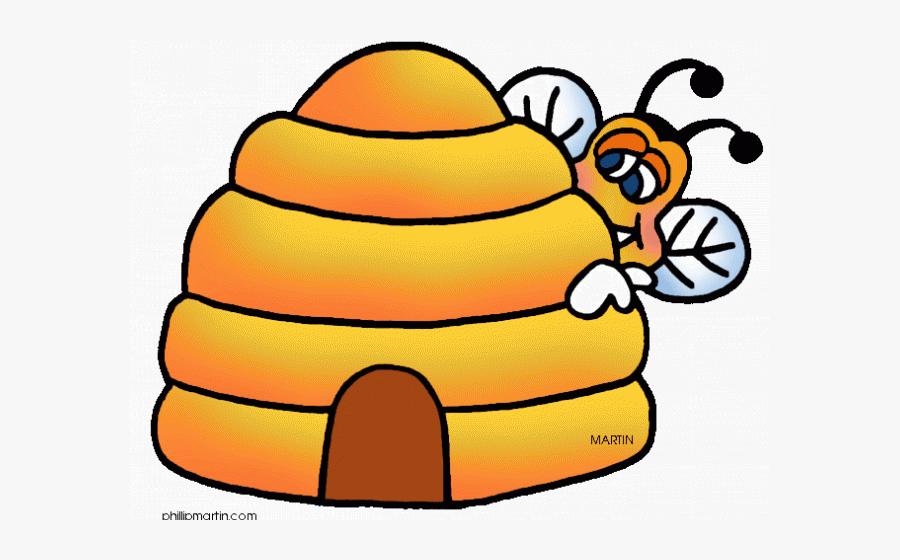 Bee Hive Clipart Transparent - Clip Art Bee Hive, Transparent Clipart