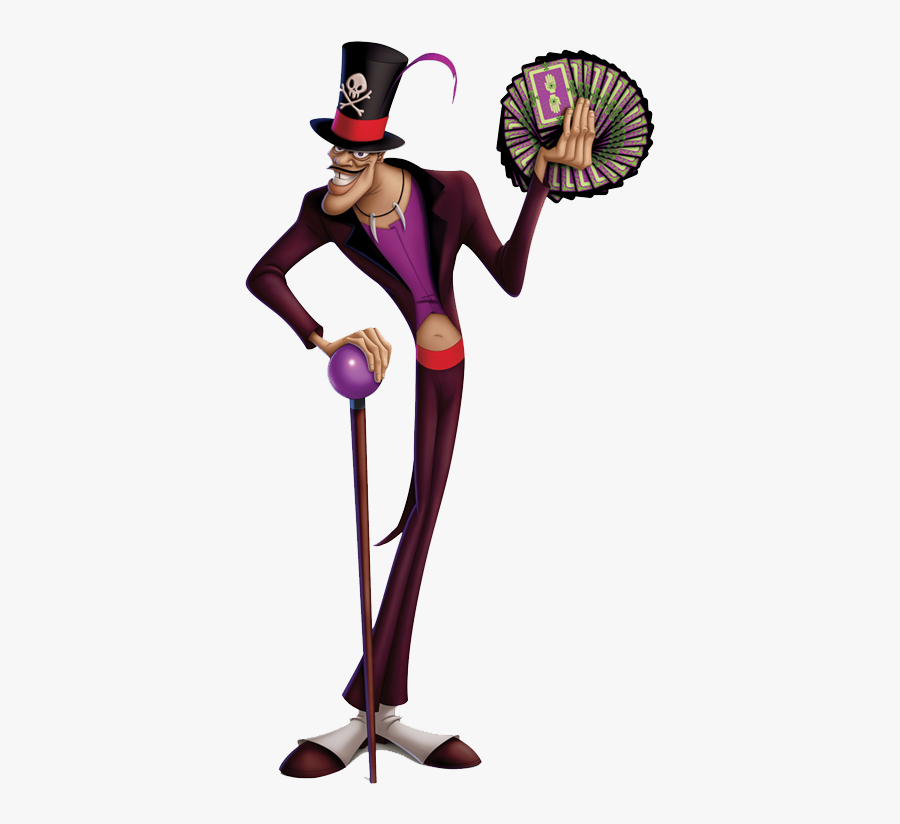 Dr Facilier Disney Wiki - Princess And The Frog Dr, Transparent Clipart