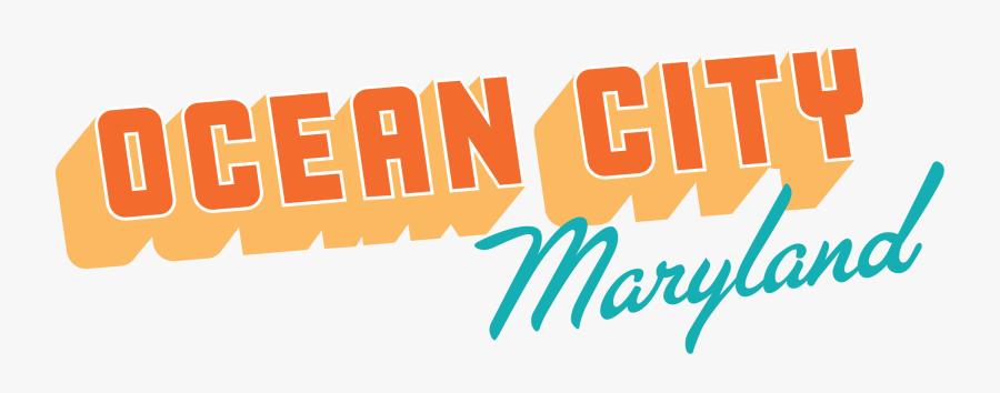 Visit Ocean City - Ocean City Maryland Logo, Transparent Clipart