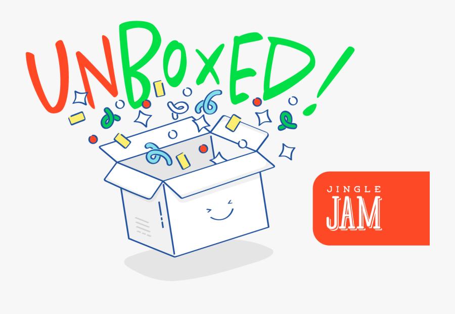 Jingle Jam Unboxed, Transparent Clipart