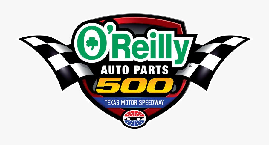 O Reilly Auto Parts 500 Logo, Transparent Clipart