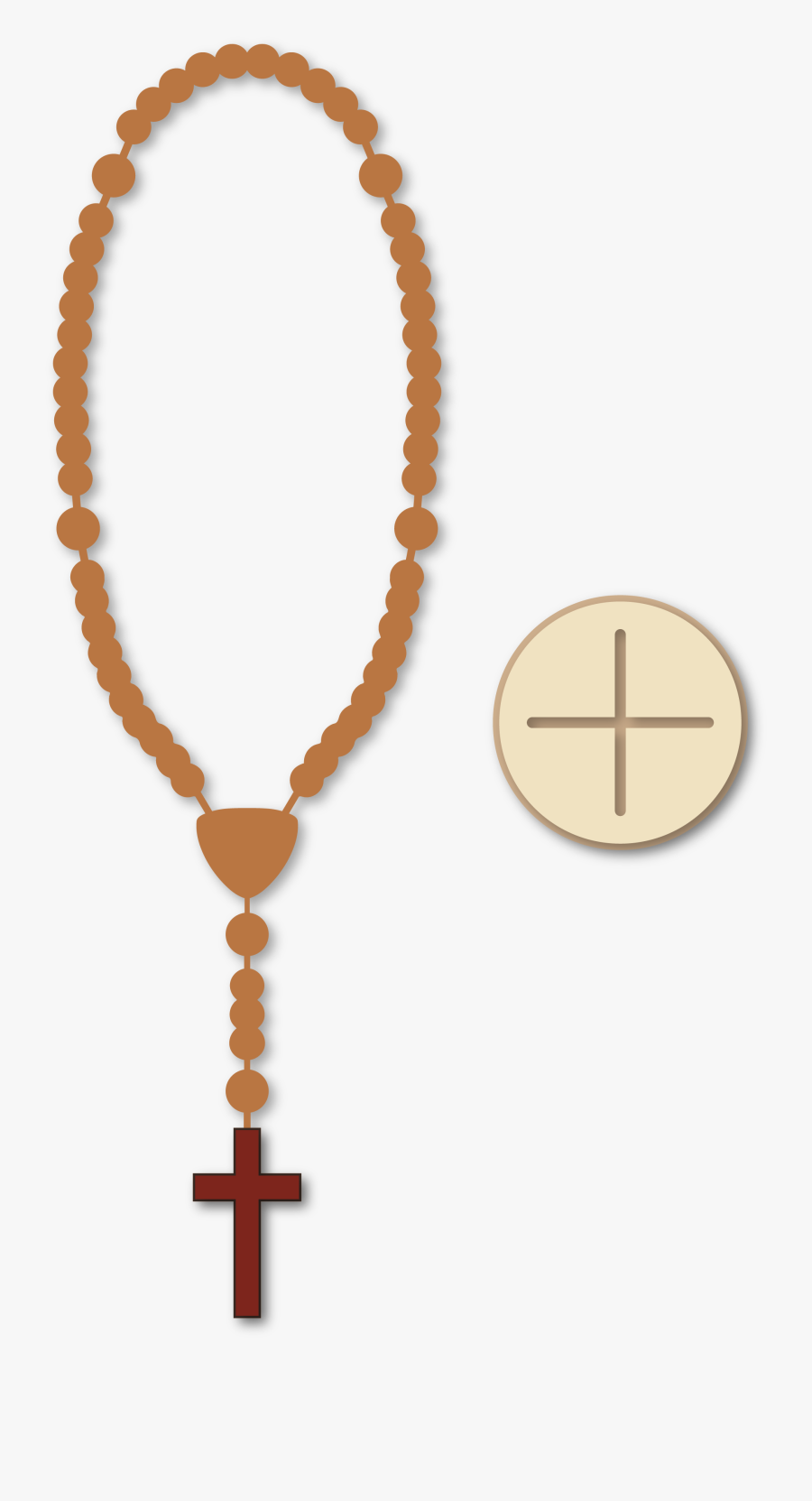 Prayer Beads , Png Download - Rosary, Transparent Clipart