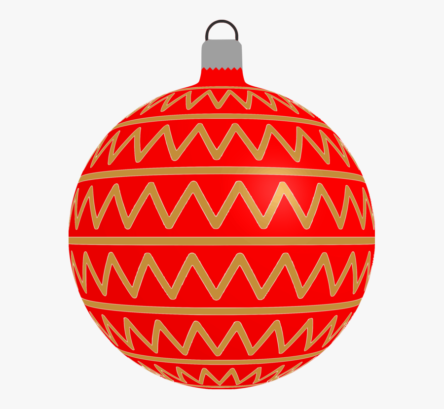 Christmas Ornament - Christmas Tree Baubles Clipart, Transparent Clipart