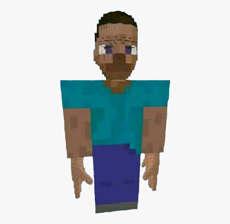 Transparent Minecraft Steve Clipart Cursed Minecraft Images