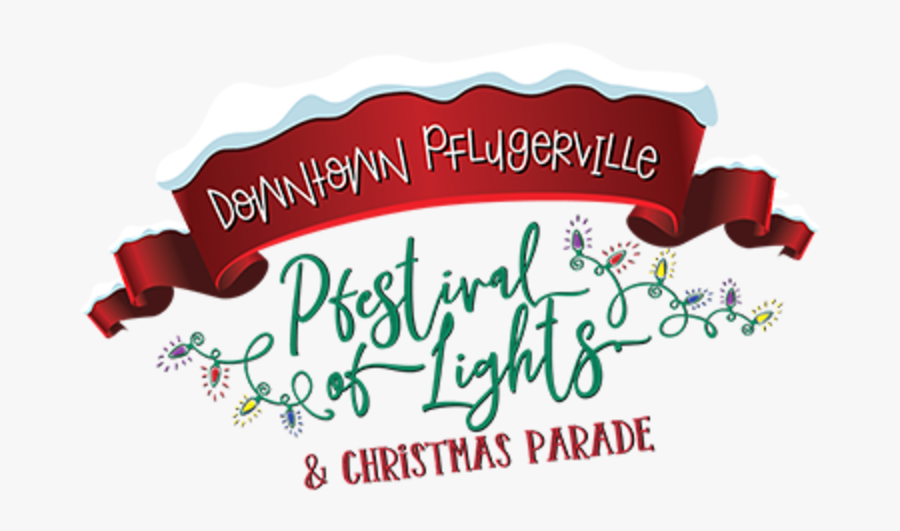 Pflugerville Christmas Parade, Transparent Clipart