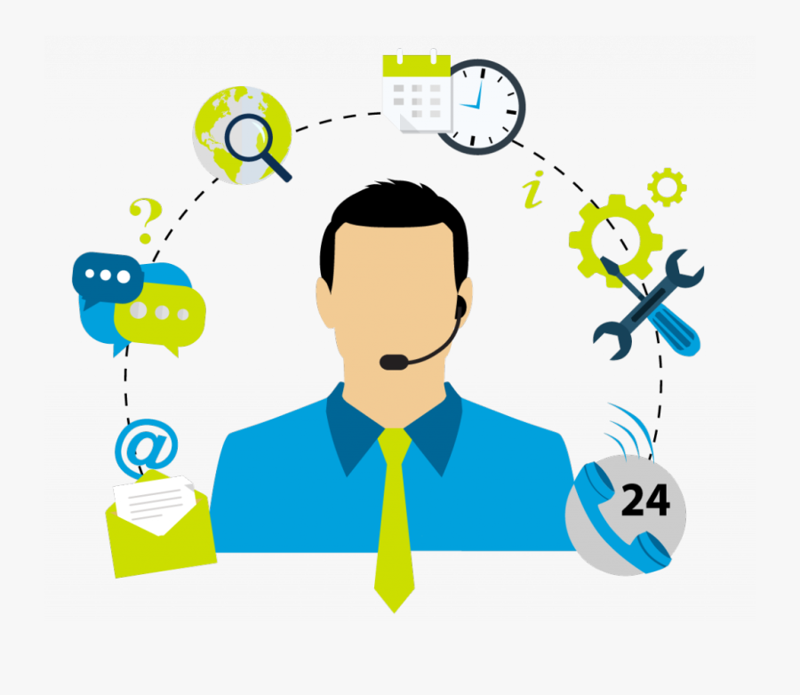 Employee Clipart Call Center - Customer Experience Contact Centres, Transparent Clipart