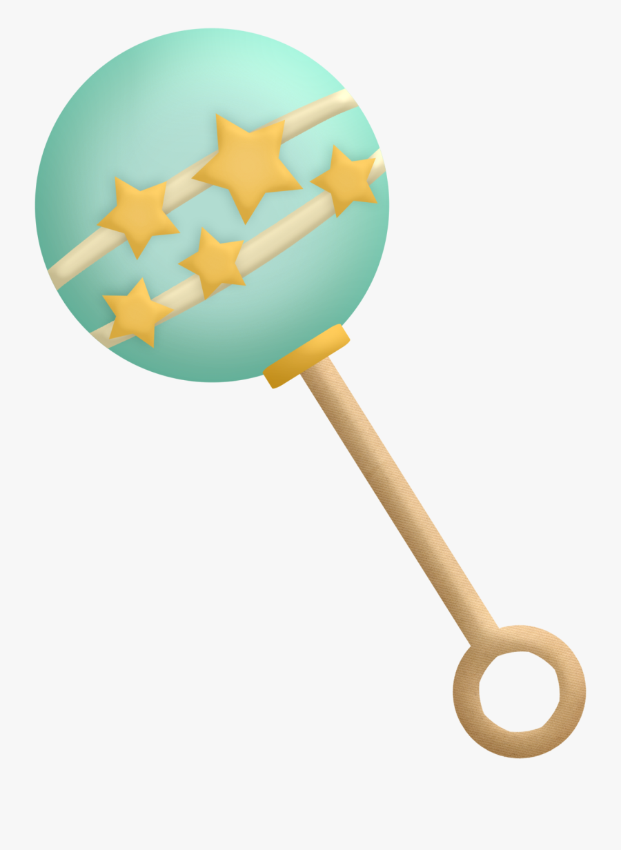 Transparent Baby Rattle Png, Transparent Clipart