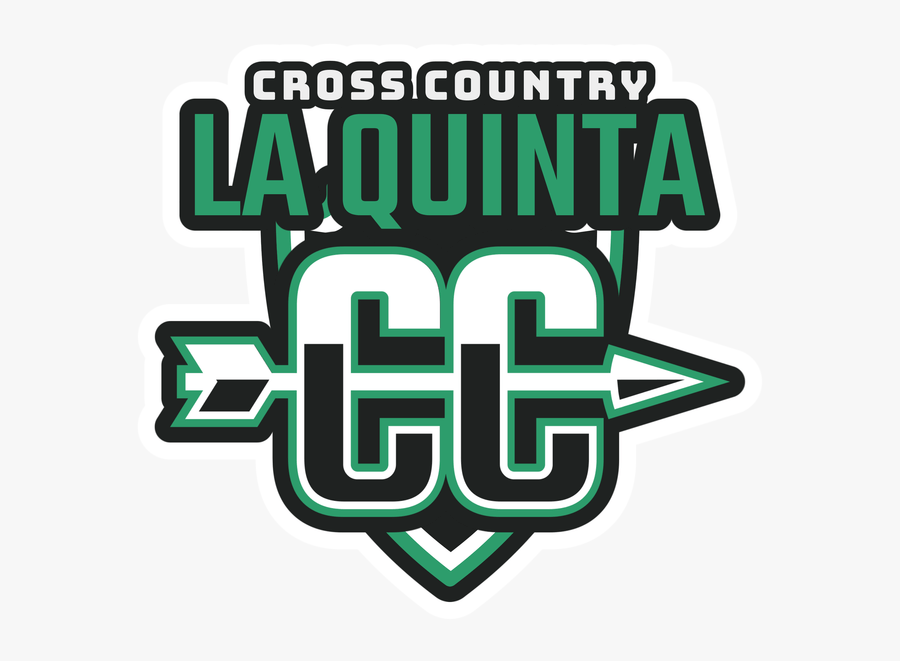 Cross Country Logo Maker With Arrow Graphic - High School Cross Country Logos, Transparent Clipart