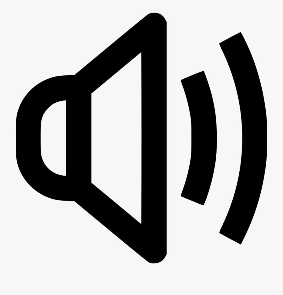 Audio Loud Music Sound Speaker Volume - Speaker Audio Loud Sound Icon Png, Transparent Clipart