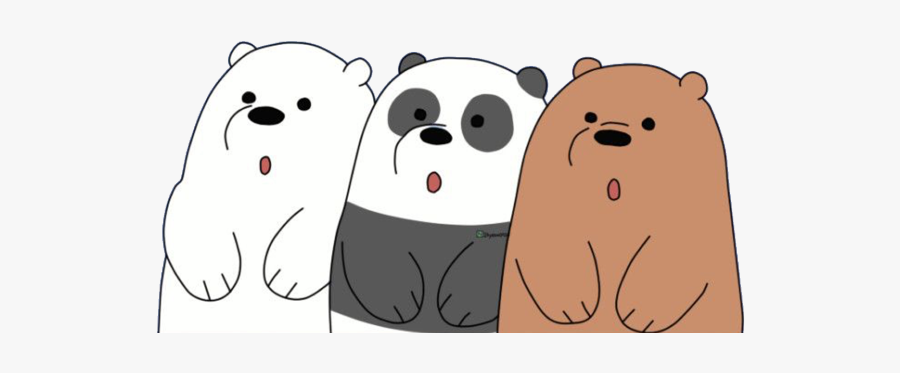 #siblings #brothers #loveyourself #love #4ever #freetoedit - We Bare Bears, Transparent Clipart