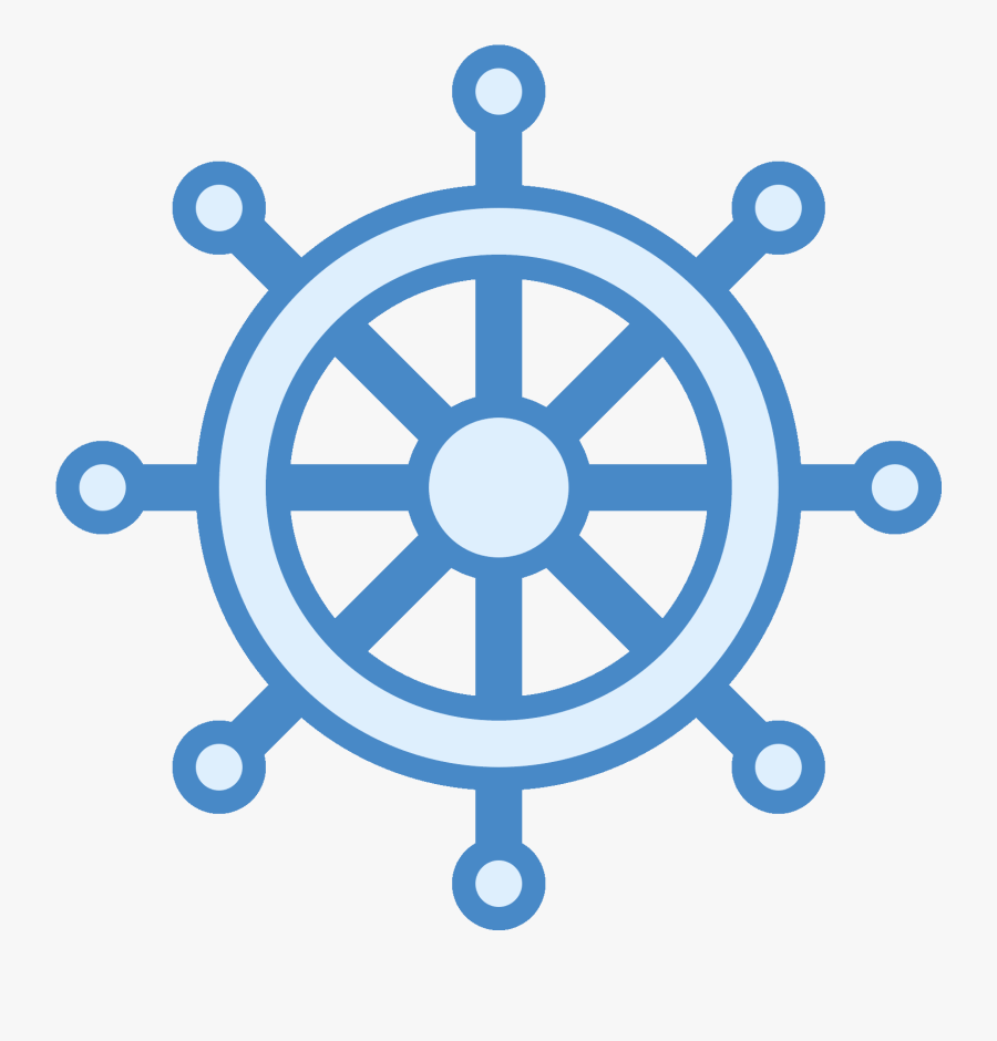 Ship Wheel Icon Clipart , Png Download - Ship Steering Wheel Icon, Transparent Clipart
