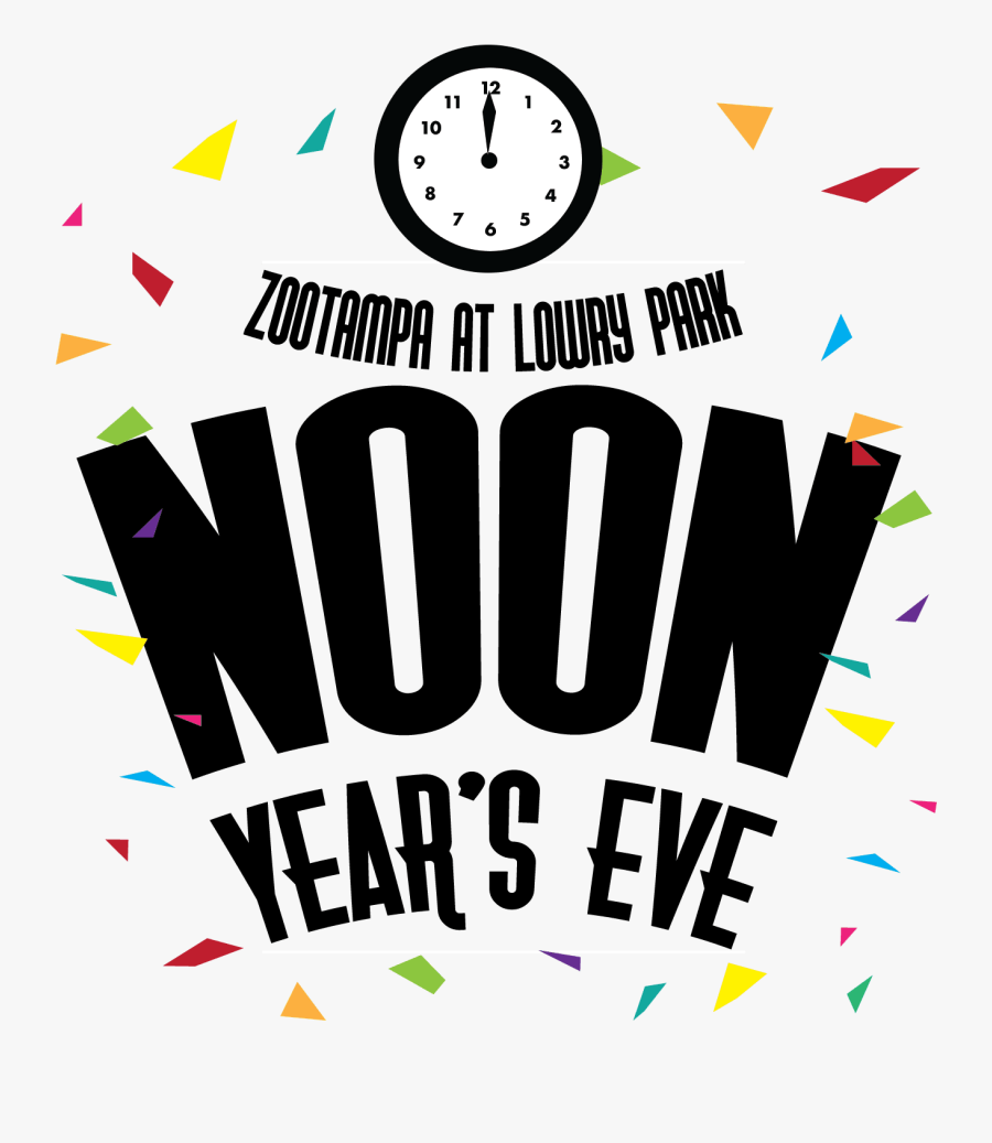"""Noon Year""""s Eve - Graphic Design, Transparent Clipart"""