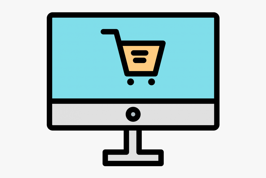 Online Shopping Icon Png Image Free Download Searchpng - Online Shopping Icon Vector, Transparent Clipart