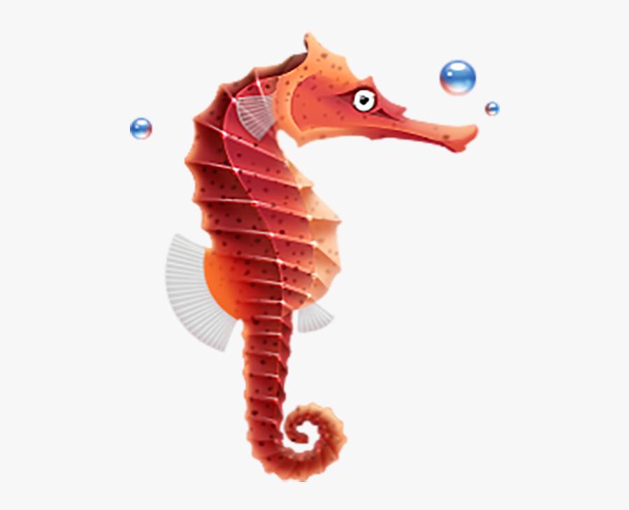 Seahorse Icon, Transparent Clipart