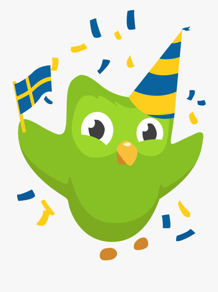 Duolingo Swedish, Transparent Clipart