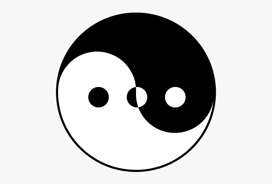 Yin And Yang, Transparent Clipart