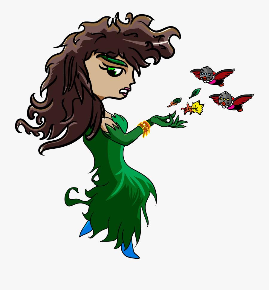 Overlord Goddess Gaia - Cartoon, Transparent Clipart