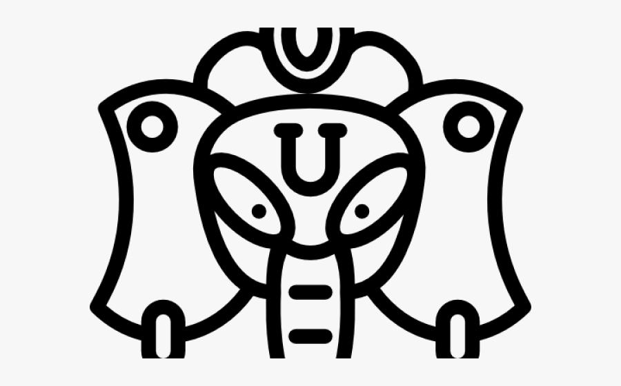 Goddess Clipart Ganesh - Ganesha, Transparent Clipart