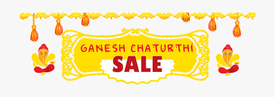 Ganesh Chaturthi Png Image - Ganesh Chaturthi Decoration Png, Transparent Clipart