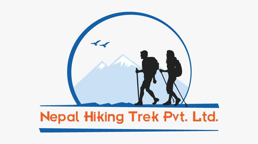 Nepal Hiking Trek - Trekking Nepal Clipart, Transparent Clipart