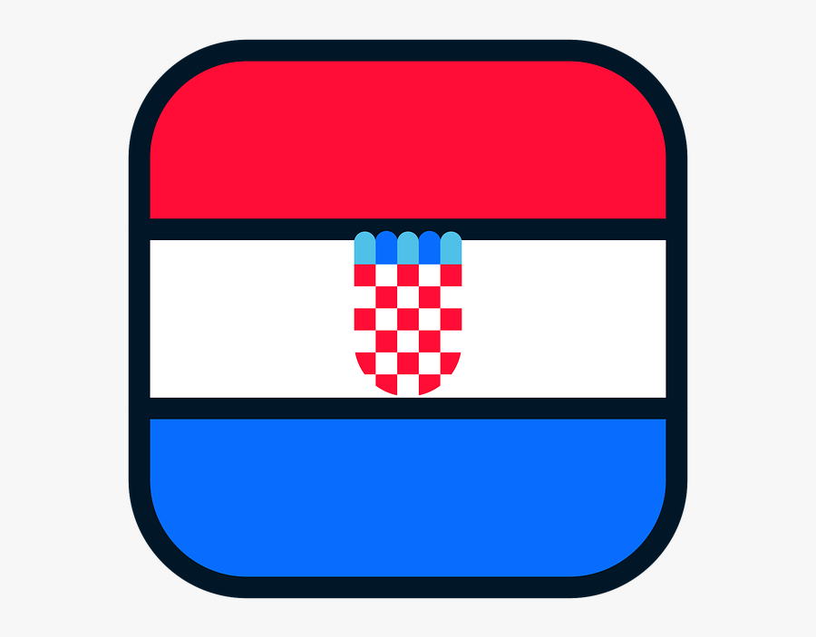 Croatia Croatia Icon Croatia Flag Free Photo - Flag, Transparent Clipart