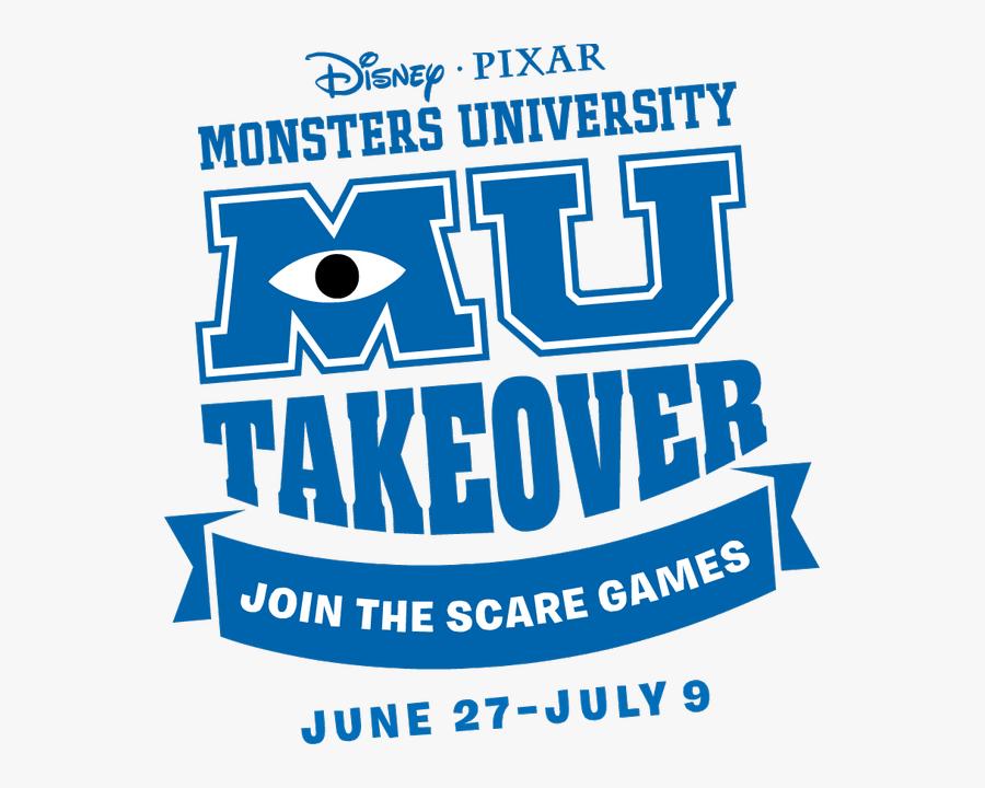 Transparent Monsters University Clipart - Monsters University, Transparent Clipart
