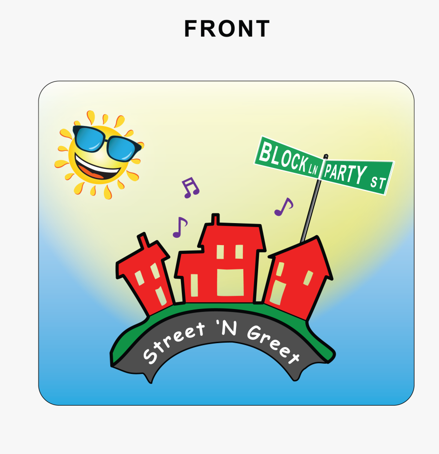 Street N Greet, Transparent Clipart