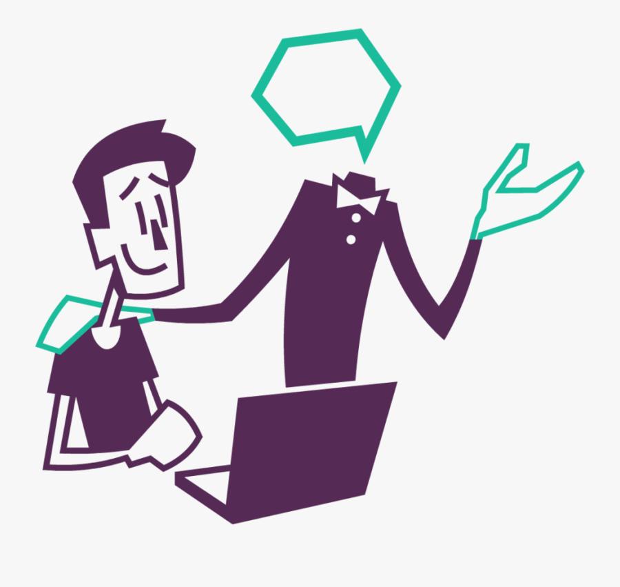 Read Our Conversational Ai Case Studies On How Our - Illustration, Transparent Clipart