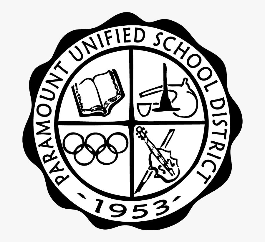 Paramount Unified School District Vector Logo, Transparent Clipart