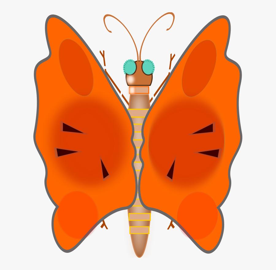 Butterfly - Clip Art, Transparent Clipart